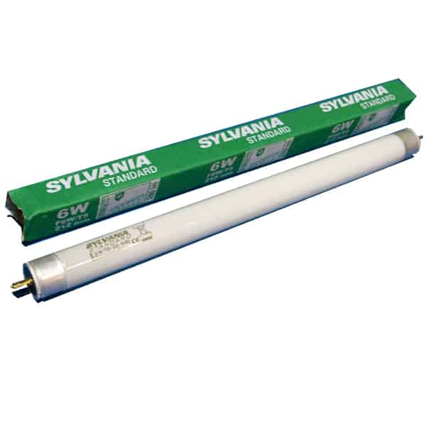 "9""/6W/T5 - Cool White -  Fluorescent tube"