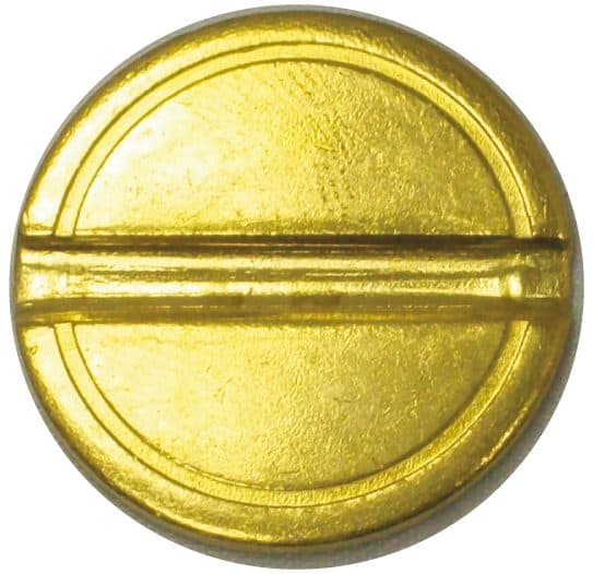 29mm single slotted security token