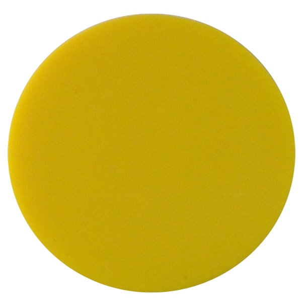Plain plastic token - Yellow