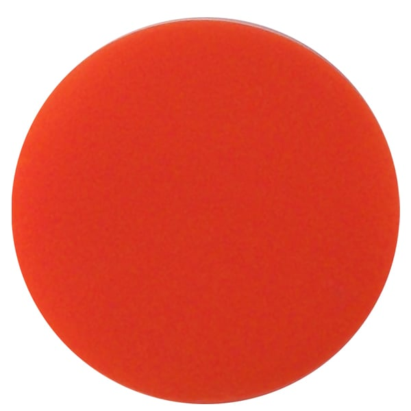 Plain plastic token - Red