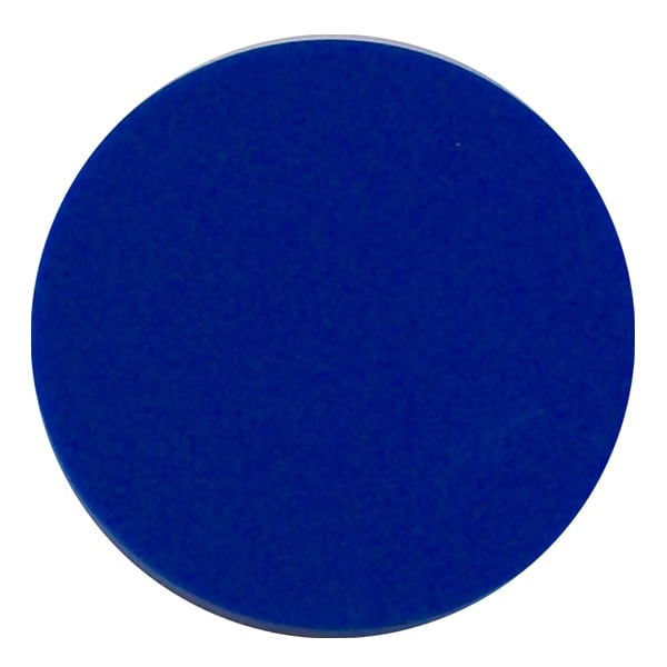 Plain plastic token - Blue