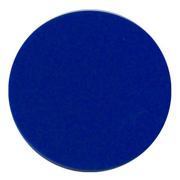Plain plastic token - Blue