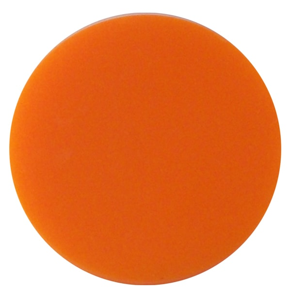 Plain plastic token - Orange