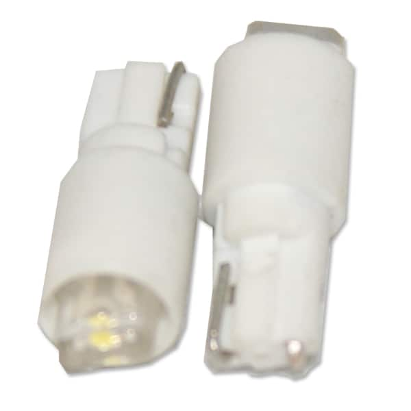 10mm 5-8V DC T10 Wedge based LED lamp (white)