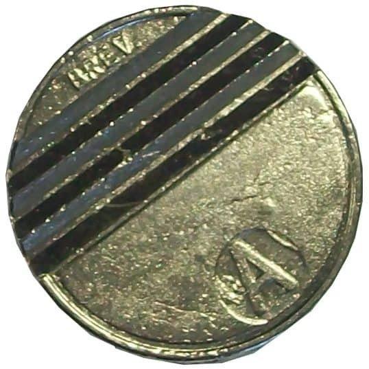 """27.8mm High Security token """"000"""" Keyway"""