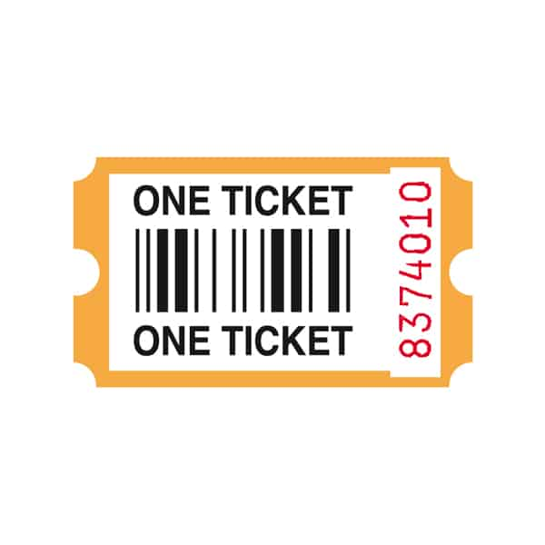 ICE Redemption Tickets - Orange x 2000