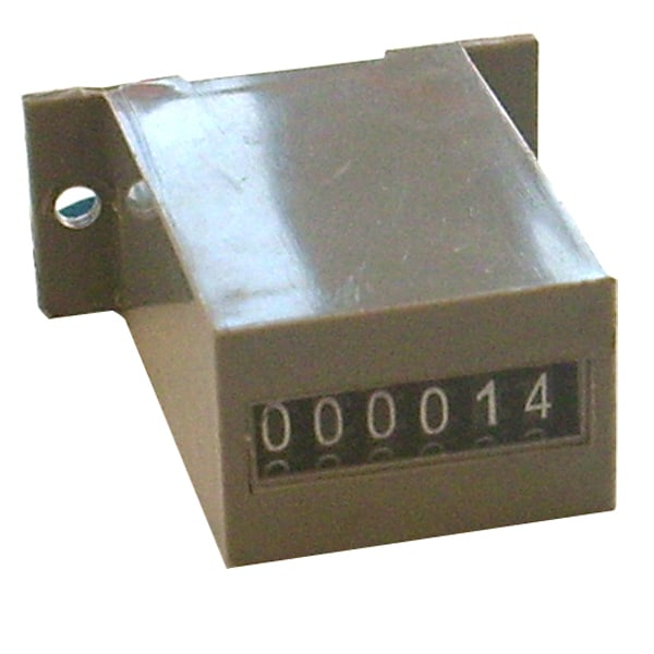 24V DC - 6 Digit - Non-resettable - Base-mount Meter
