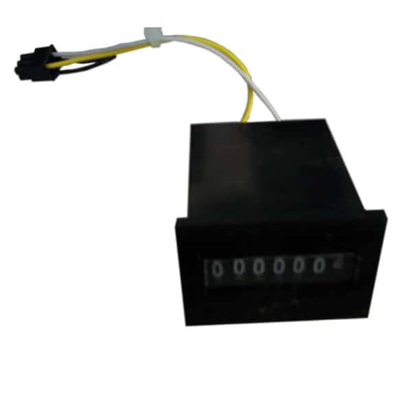 7 digit panel-mount meter 12VDC