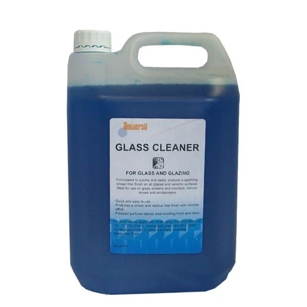 Ambersil liquid glass cleaner - 5 litre refill