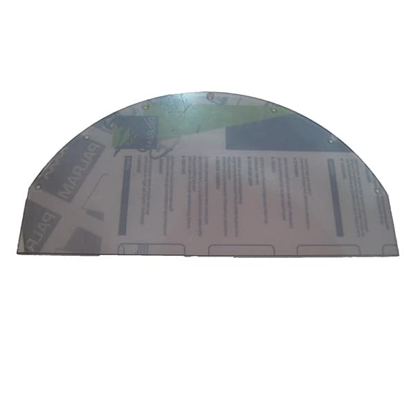 Domed Top Panel - perspex