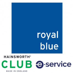 Hainsworth - Pool Table Cloth - Club - Royal Blue