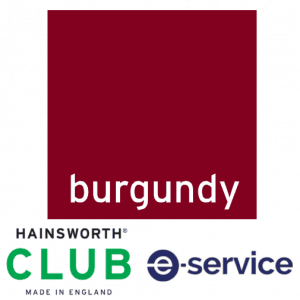 Hainsworth - Pool Table Cloth - Club - Burgundy