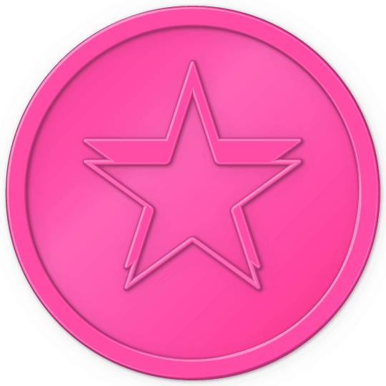 Florescent  pink