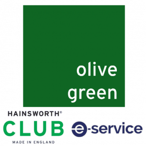 Hainsworth - Pool Table Cloth - Club - Olive Green