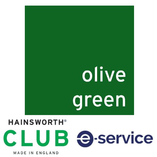 Hainsworth   Pool Table Cloth   Club   Olive Green