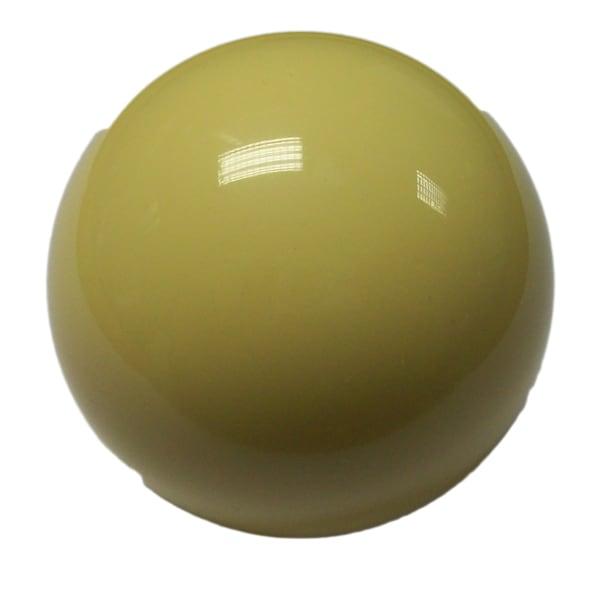 "2 1/4"" white cue ball"