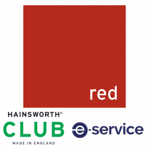 Hainsworth - Pool Table Cloth - Club - Red