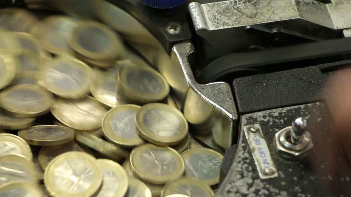 coin machine fraud