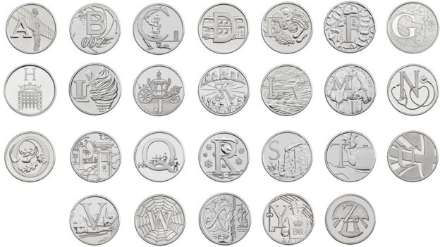 ten pence coins
