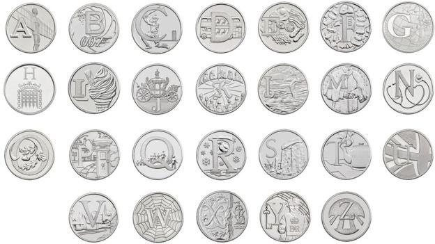 ten pence coins