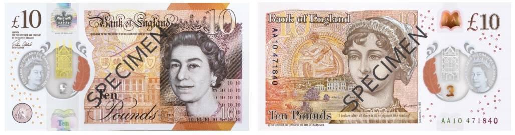ten pound new note