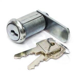 28mm-Flatkey-Lock-&-Keys-35mm-Cam-Pool-Table-compatible