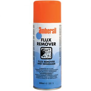 ambersil flux remover degreaser delicate electronic pcb 400ml