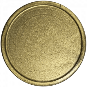 gold plastic tokens 35mm bag of 100