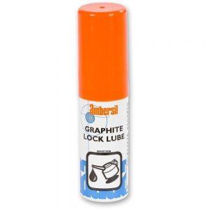 ambersil dry graphite lock lube lubricant