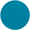 aqua blue sunburst party events embossed tokens bag of 100
