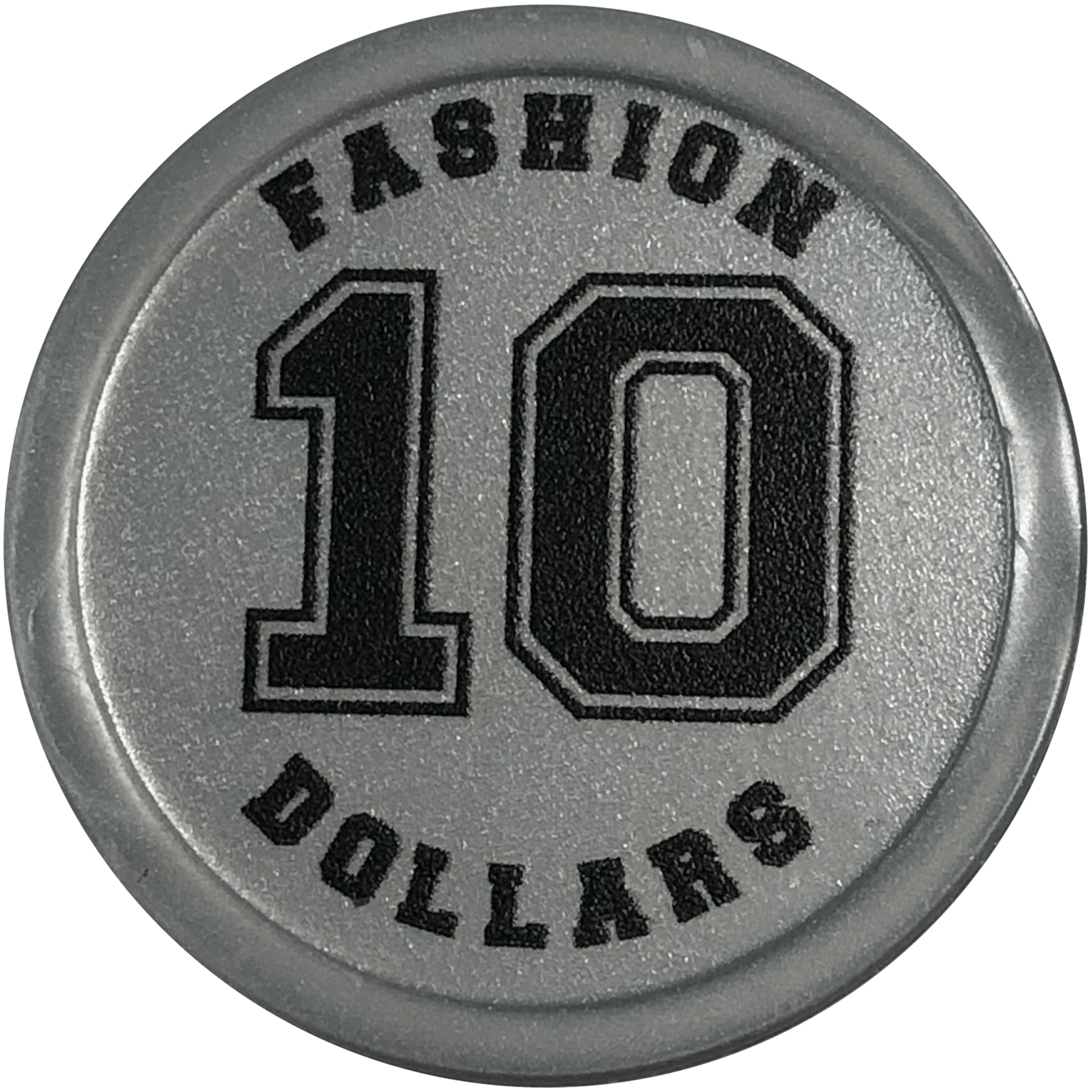 Personalised custom tokens, embossed printed, occasion event
