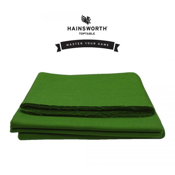 Hainsworth Pool Cloth – precision olive green