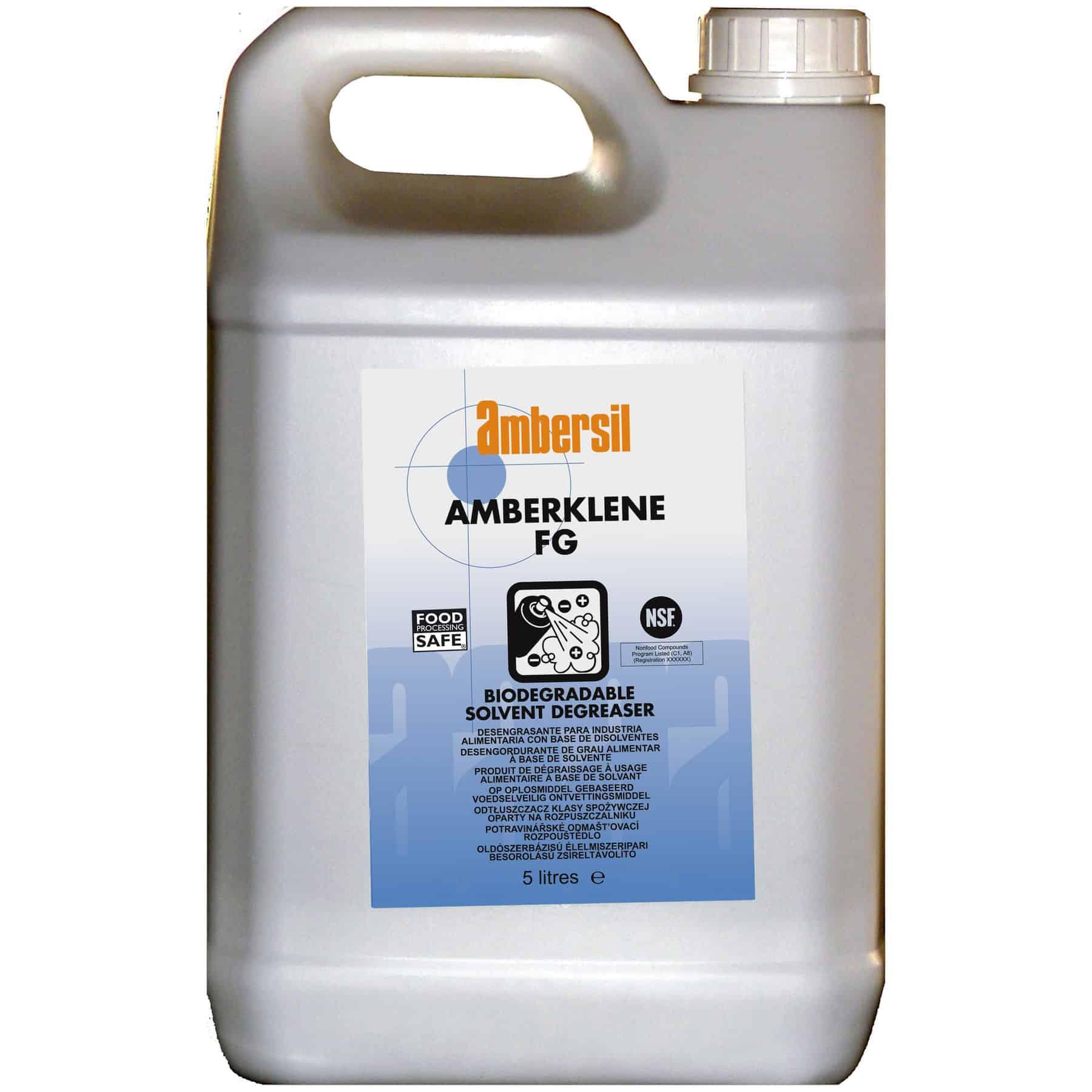 Ambersil - Amberklene FG 5 Litre