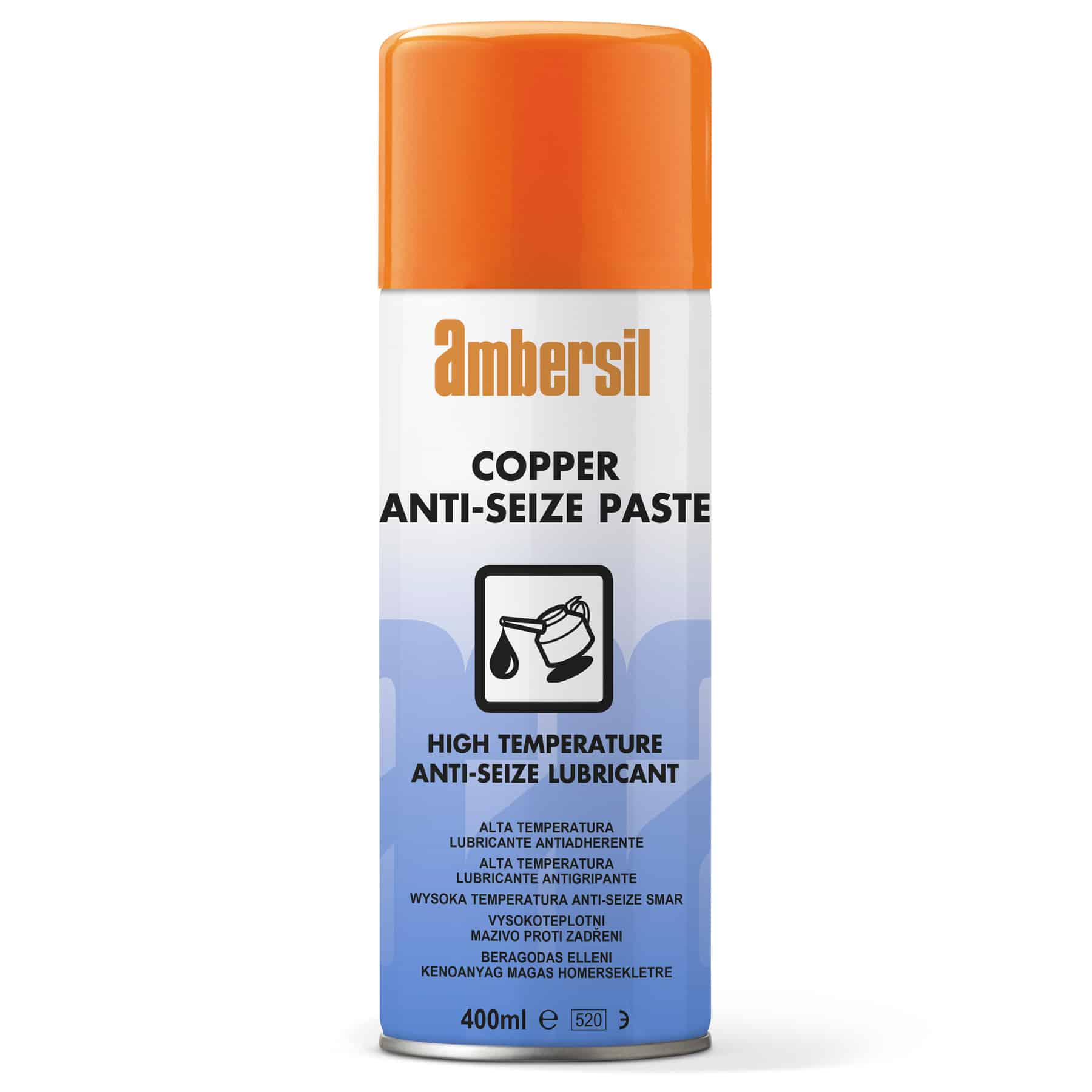 ambersil copper anti seize paste 400ml high. Black Bedroom Furniture Sets. Home Design Ideas