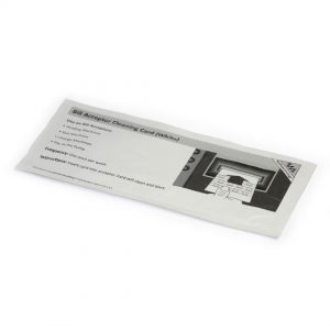 Bill Acceptor Cleaning Cards White - Box of 15 Waffletechnology