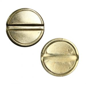 grooved security coin