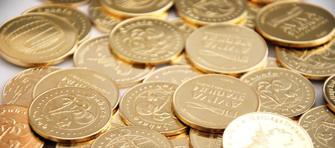 Arcade-coins