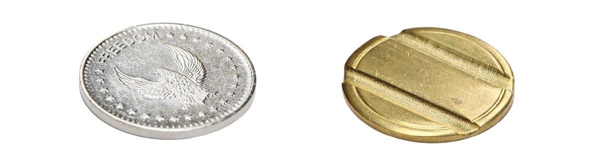 Metal-Coin-Token