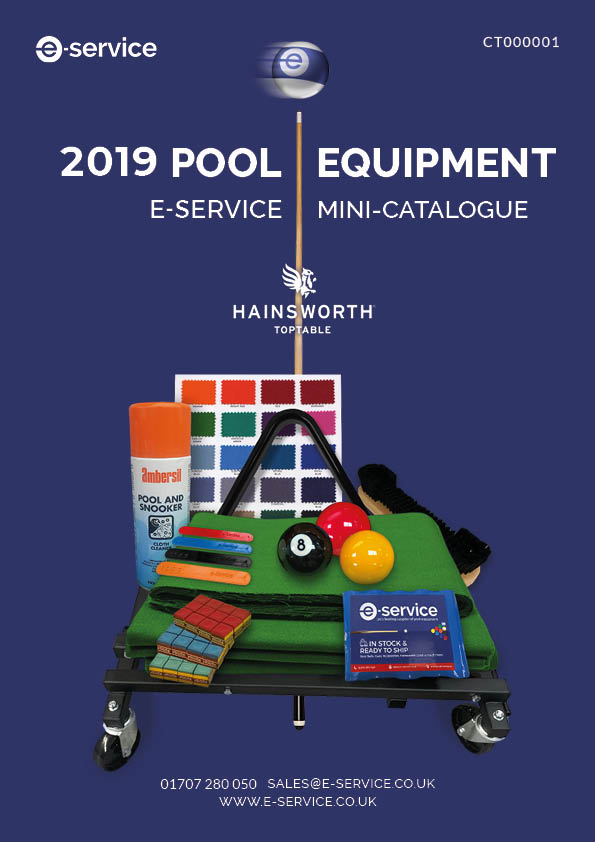 E-Service Pool Equipment Catalogue