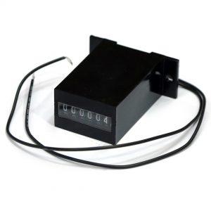 31050103 - EM1212VDCA6 NON-RESET 6 DIGIT BASEMOUNT METER (ROHS)