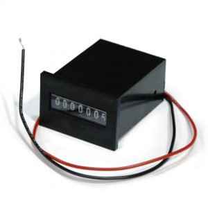 BR TARR696 - EM37-12UVDSE7D (M501712VDC) 7DIGIT PANEL MOUNT METER NON RESET + DIODE (PART OF TARQ293