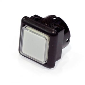 Gamesman Pushbutton - 1105, Black, Clear, Opal - GPB 1105 AHQBBZZZLB