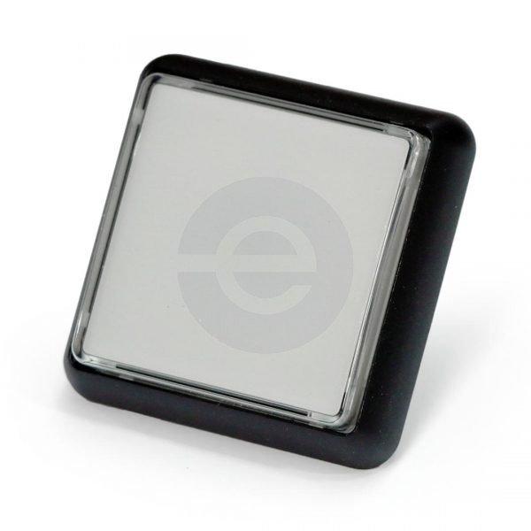 Gamesman Pushbutton GPB570 - Black Body, White Front
