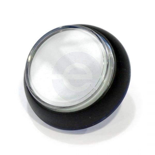 Gamesman Pushbutton GPB730 - Black Body, White Front. Cherry MS, 12V LED (2)