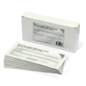 Waffletechnology - KW3-BCWB15M - Cash Acceptor Cleaning Cards - Box of 15